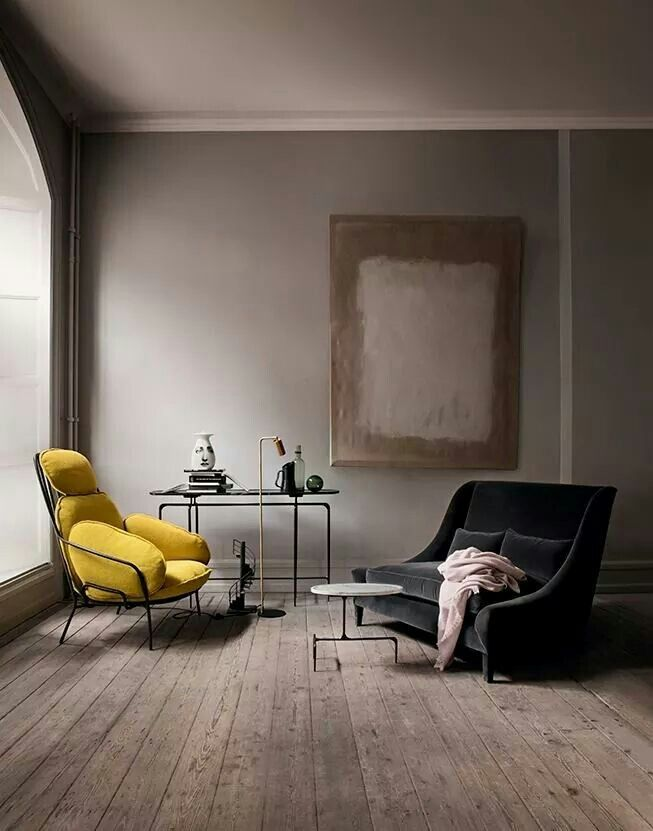Yellow Inspirado 92 Pinterest Interiors, Living rooms and Room