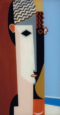 Louis Marcoussis (1883-1941) | Portrait d'Alice Halicka | 20th Century, Paintings | Christie's