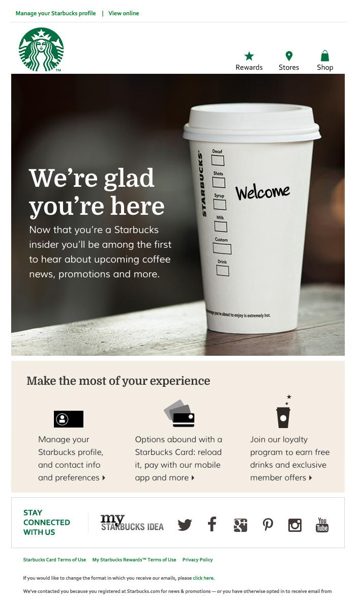 Starbucks app contact