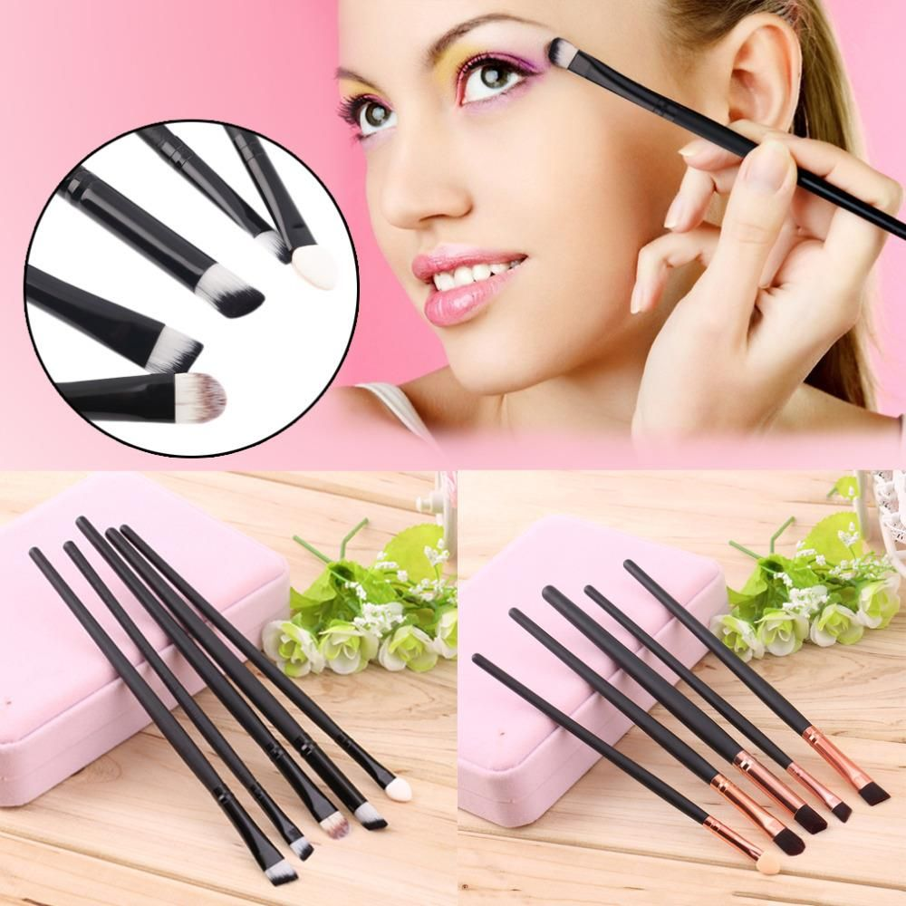 Makeup Brushes Kit with Cosmetics Tool (5 Pieces) //Price