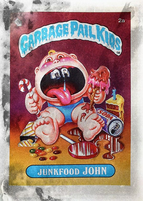Garbage Pail Kids Characters Displate Posters