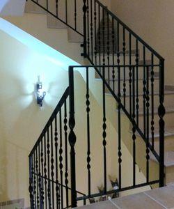 Escaleras albert pinterest escalera rejas y buscar for Construccion de escaleras de hierro