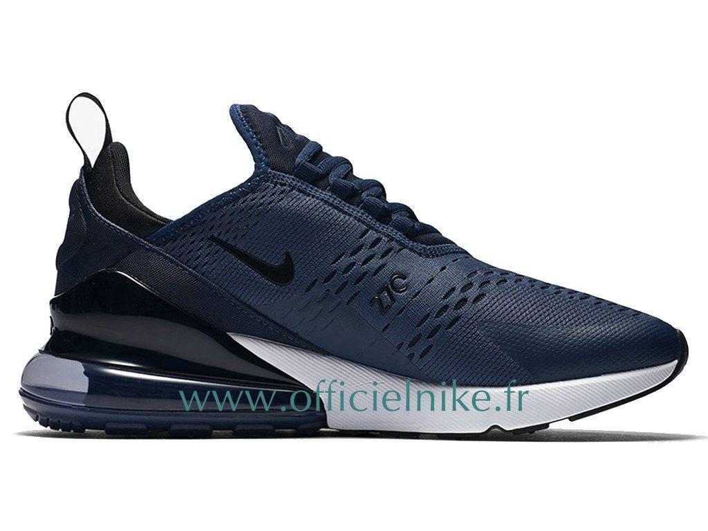 timeless design 49db4 2d47b Homme Chaussure Officiel Nike Air Max 270 Midnight Navy Noir AH8050-400