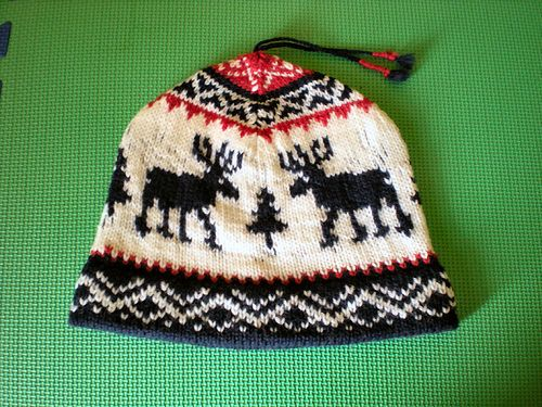095f11060ce Ravelry  Team USA Reindeer Hat pattern by Helena Bristow