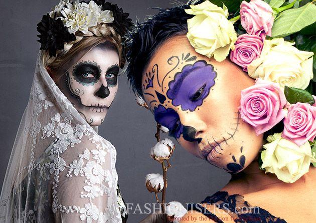 Halloween Makeup Ideas for Women  #halloween #halloweenmakeup #makeup #sugarskull