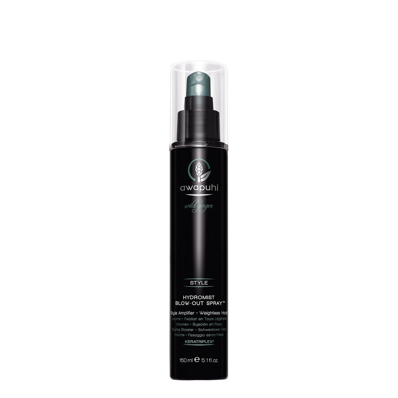 Paul Mitchell – Awapuhi Wild Ginger Hydromist Blow Out Spray – 5.1 oz  – Peinados
