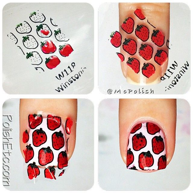 """Happy Friday! Reverse stamping/stamped polish decal tutorial by @mcpolish now on winstoniastore.wordpress.com ✨"""