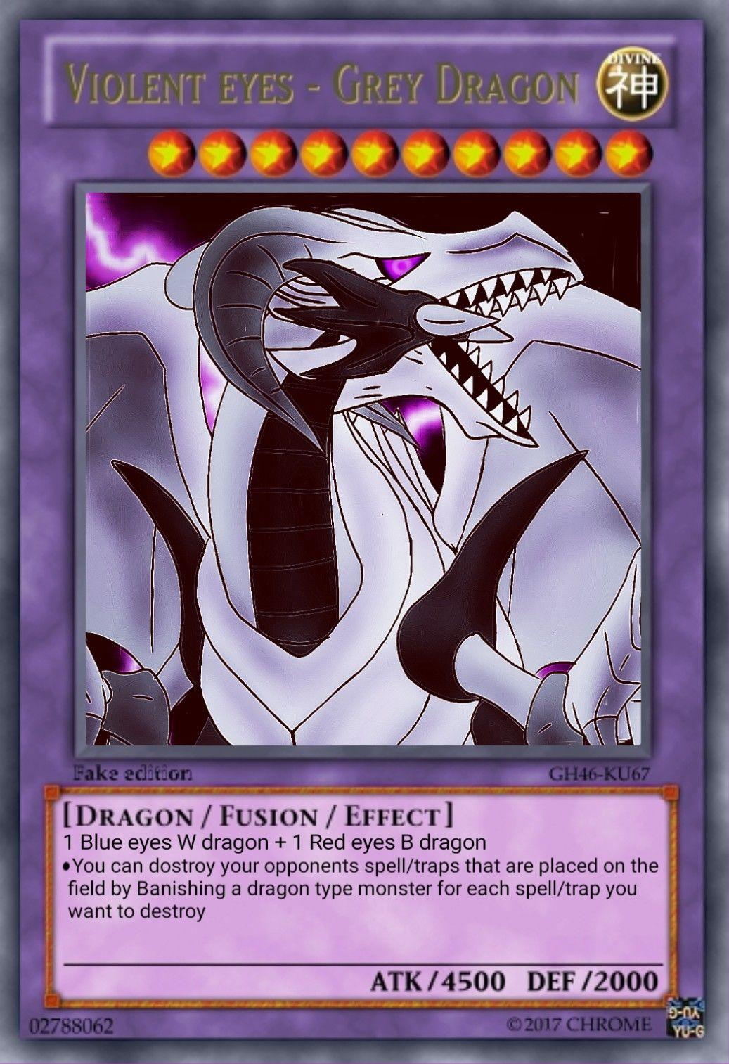 Fake fusion yugioh card