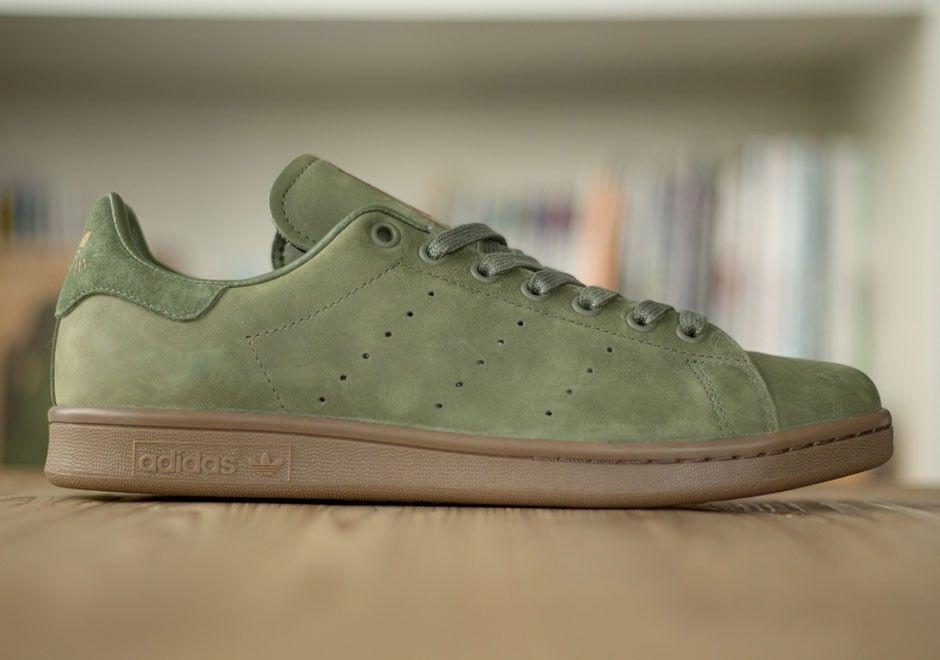 reputable site da988 8e25e Men adidas Stan Smith Khaki/Olive Green | John Boy Fashion ...