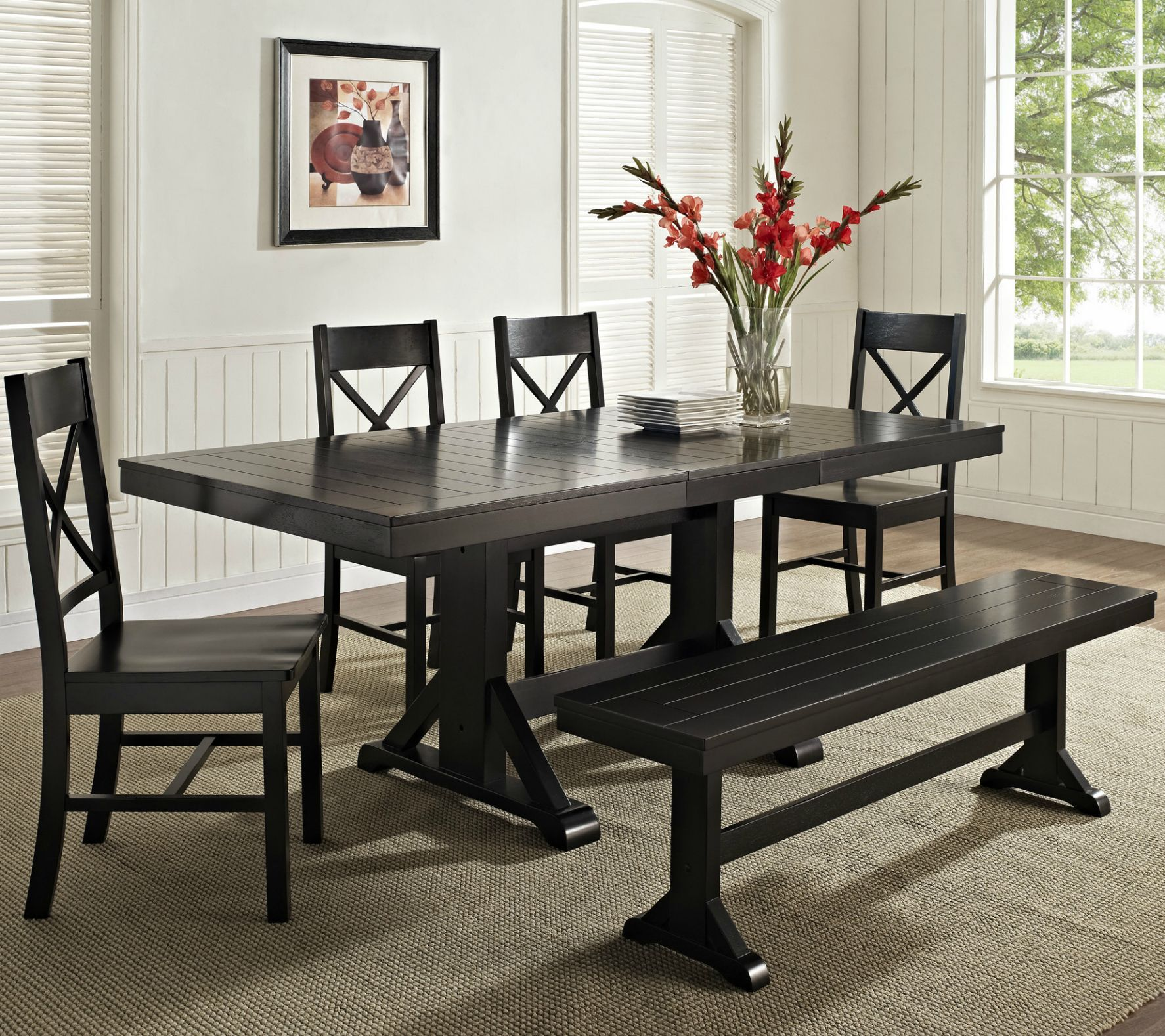 28++ Small dining room sets with bench Top