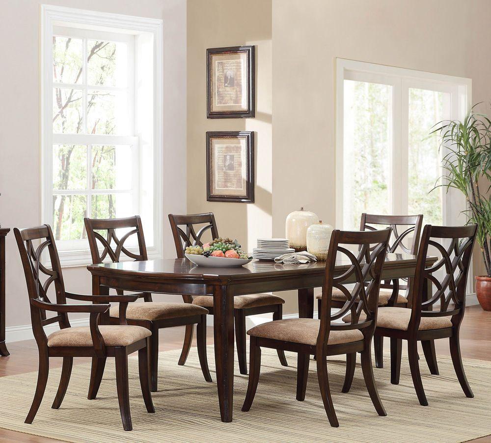 cheap farmhouse dining table set
