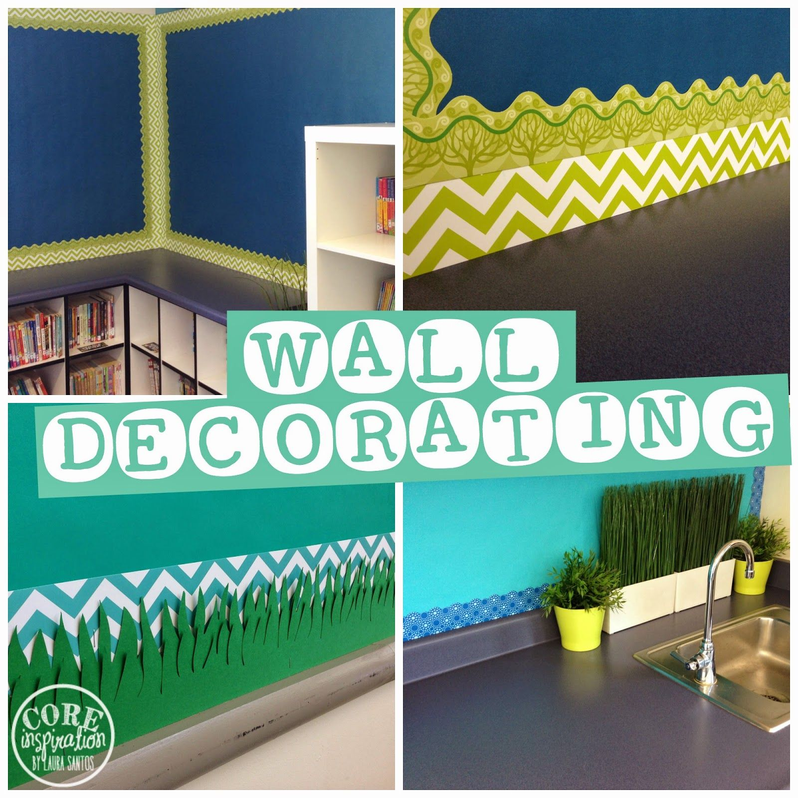 Cute classroom decorations on pinterest forest theme classroom year 6 classroom and history - Classroom wall decor ...