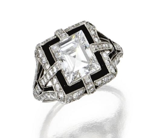 7354b7f04 Ring Tiffany & Co., 1920 #jewelry #ring #diamond #tiffany #artdeco ...