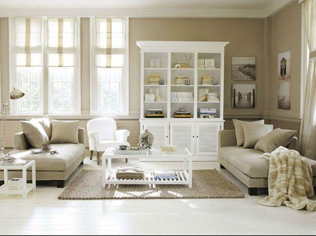 salon blanc et beige - Salon Blanc Et Beige
