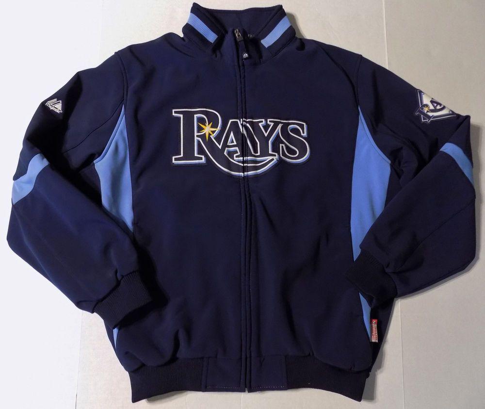Pin By Nichole On Baseball Mlb Jackets Tampa Bay Rays Athletic Jacket