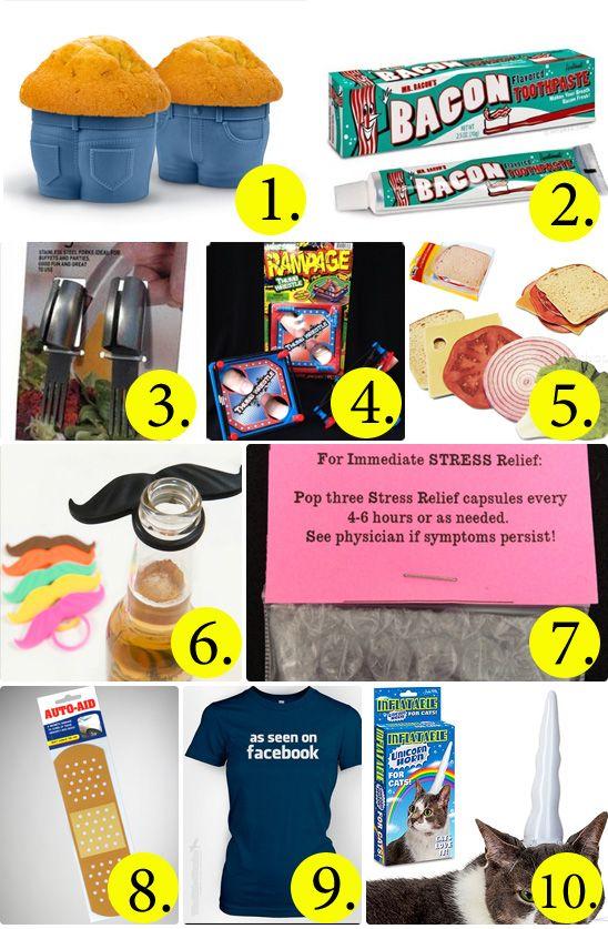 50 Hilarious and Creative White Elephant Gift Ideas | White ...