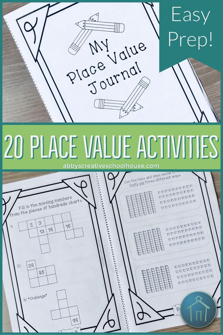 Place Value Activities Journal | Differentiation strategies, Base ...