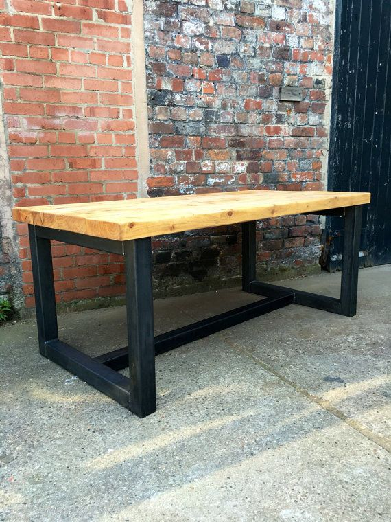 fb1406e0957d Reclaimed Industrial Chic 10-12 Seater Solid Wood and by RCCLTD 12 Seater  Dining Table