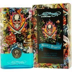 Ed Hardy Hearts & Daggers By Christian Audigier Edt Spray 1.7 Oz