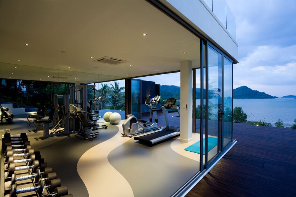 34 Luxury Home Fitness Gym Design Ideas To Keep You Save Healthy ...