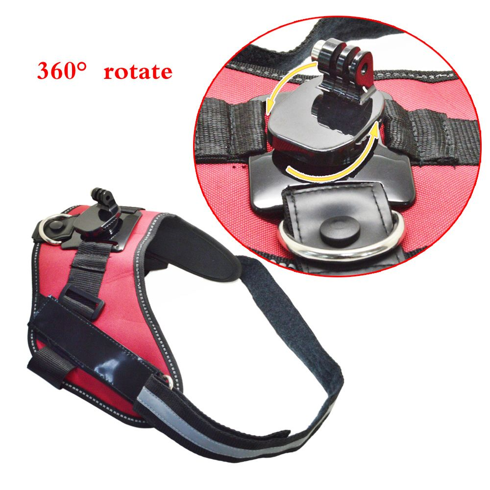 SnowHu for New arrival accessories  B Series 360-Degree Rotative Dog Harness Mount  for GoPro Hero 5 4S 4 3+ 3 2 1   GP365B