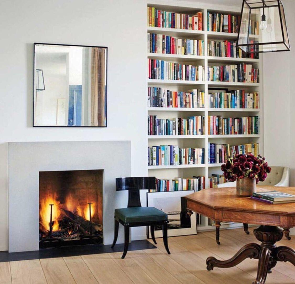 Rose Uniacke Transforms Screenwriter Peter Morgan S Historic London Ho: House, Rose Uniacke And Bookshelves