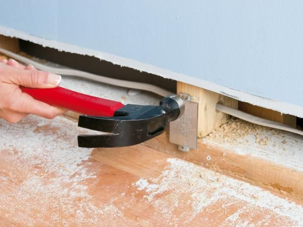 How To Hide Wiring Behind Baseboard Or Install A Raceway