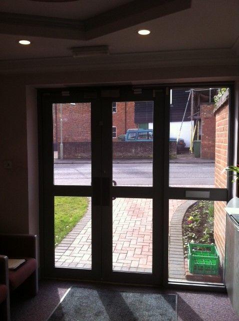 Glencore new aluminium doors