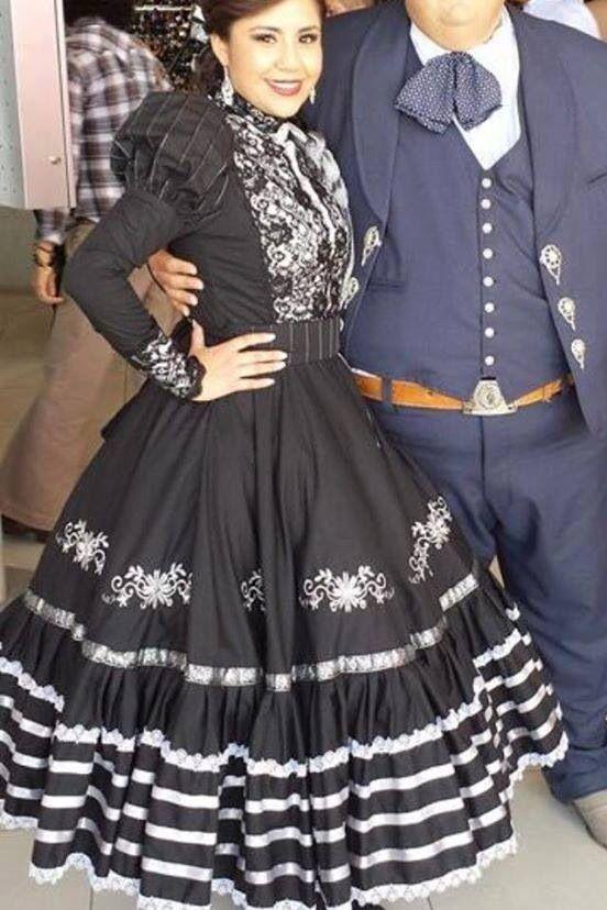 Pin En Vestidos De Escaramuza