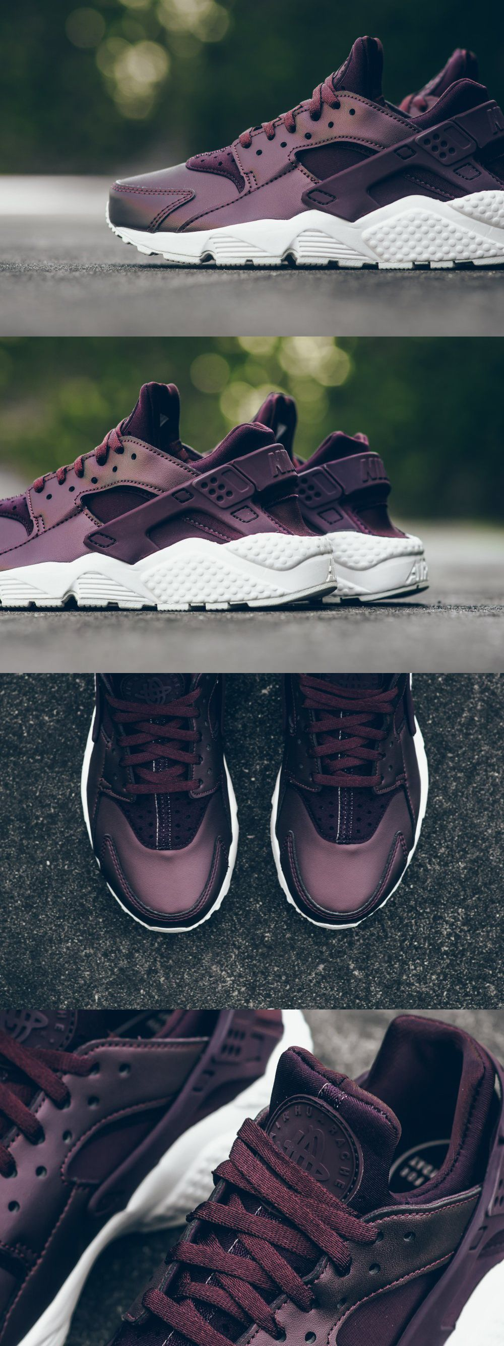 "a3635d2b782 Nike Air Huarache Run PRM TXT ""Metallic Mahogany"""