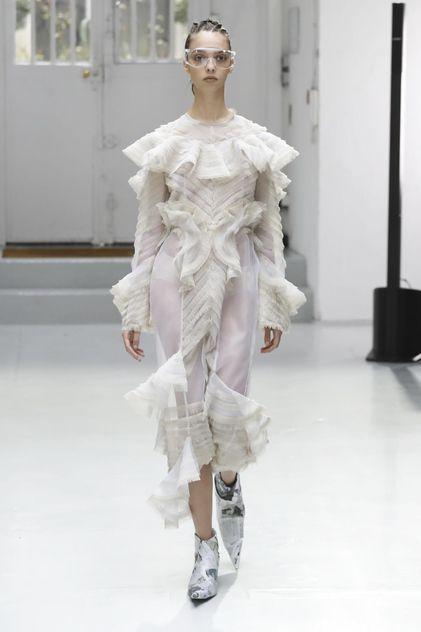 Anne Sofie Madsen Ready To Wear Fall Winter 2017 Paris
