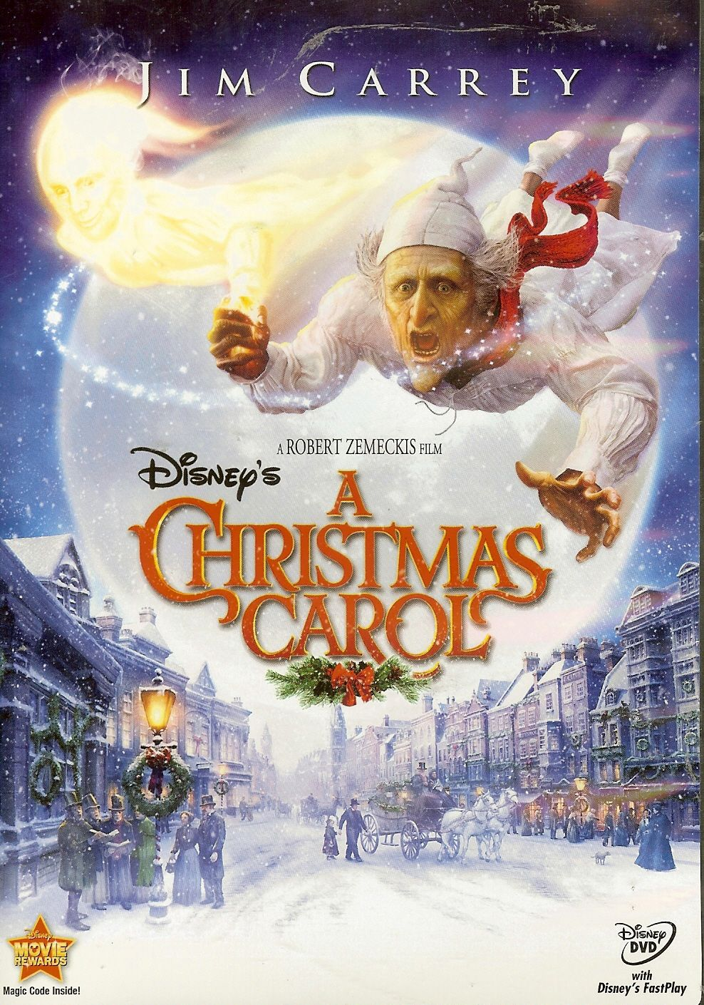 Disney's A Christmas Carol with Jim Carrey. Haven't seen this in years but would totally rewatch ...