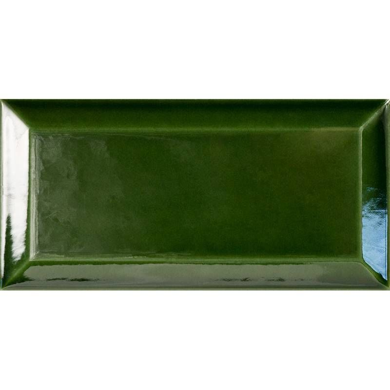 Carrelage Metro Vert Mid Century Modern Bathroom