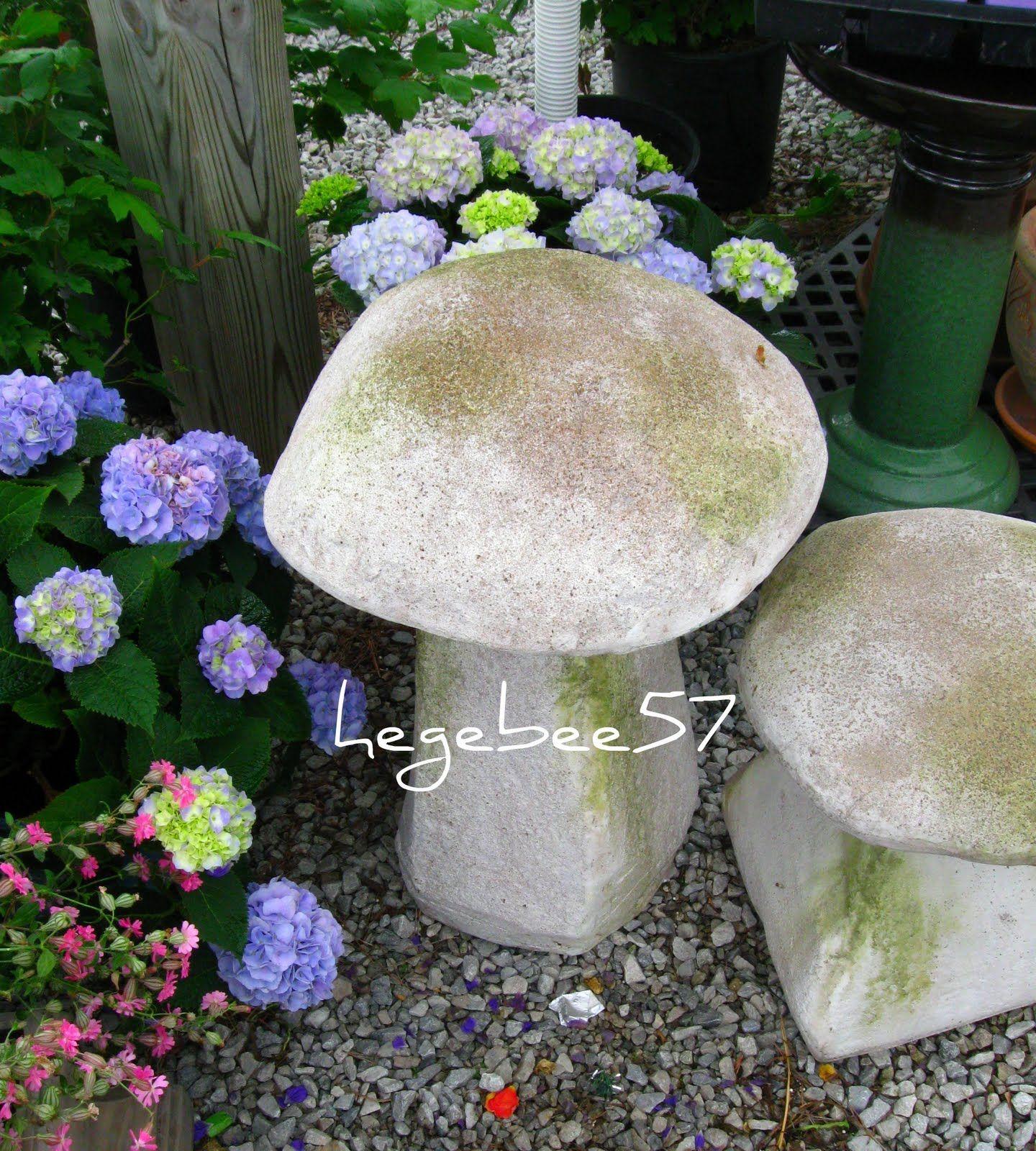 Cement Garden Art: Garden Art, Garden