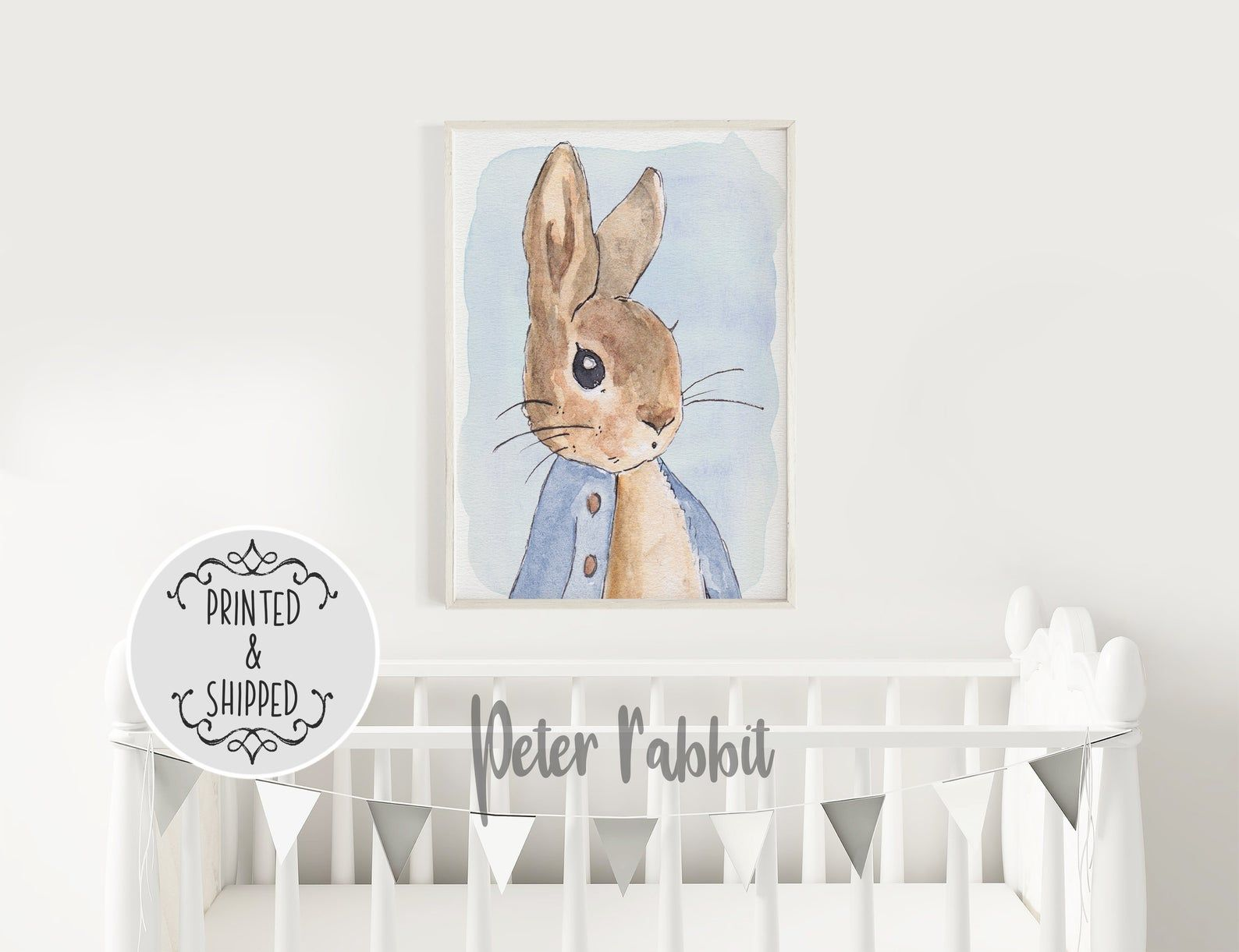 Pin By Dani Potter On Pretzels Nursery Nursery Wall Art Peter