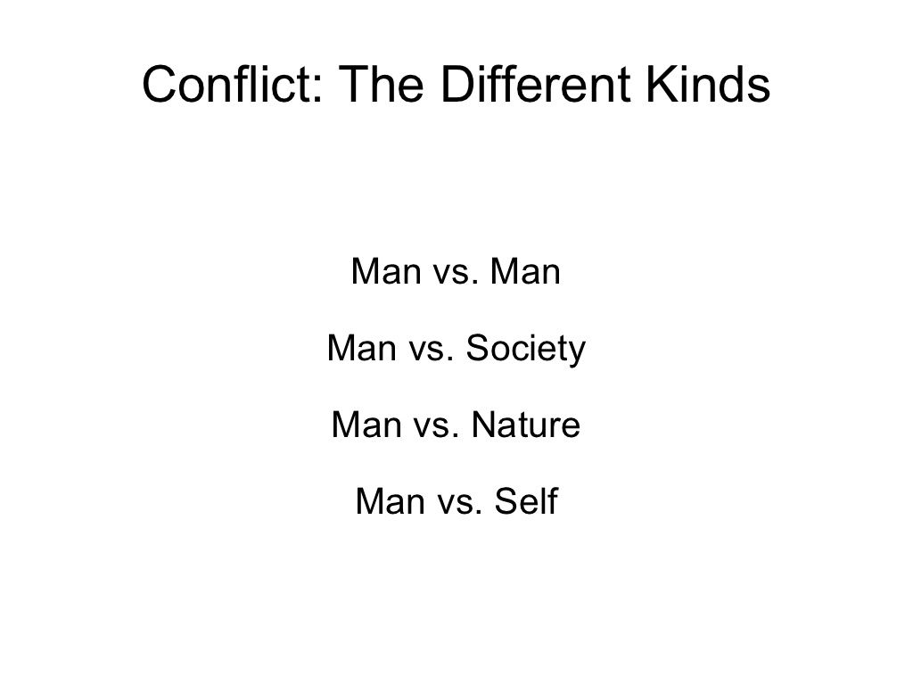 Basic Types Of Conflict By Mpowell4 Via Slideshare