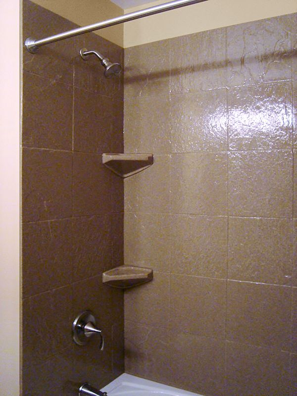 shower enclosure wall panels | Shower paint walls closet doors ...