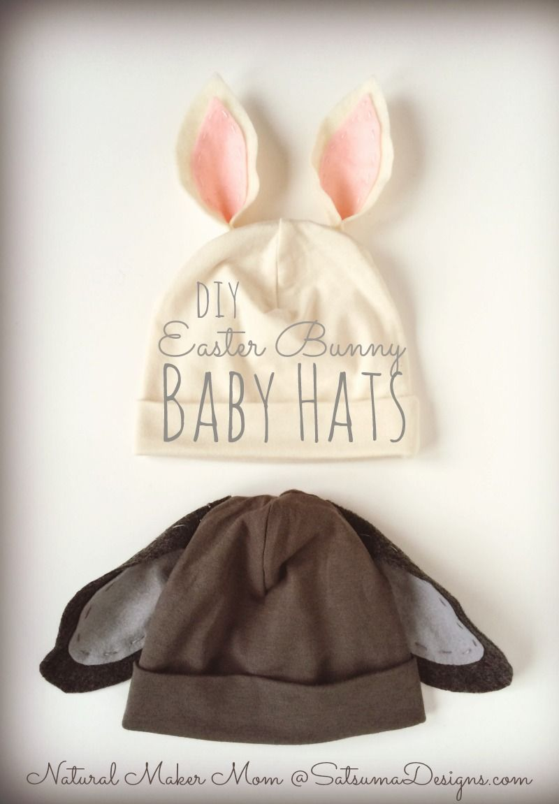 Diy easter bunny baby hat baby hats easter bunny and bunny diy easter bunny baby hat negle Images