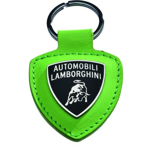 Lamborghini Leather Shield Key Ring100 Leather Exclusive Of