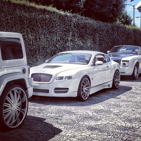Bentley Continental Gt White Supersport Car For Sale: All White Everything