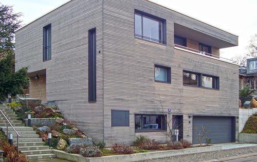 Holzfassade Haus nicht nur verputz will gepflegt und gehegt werden auch eine