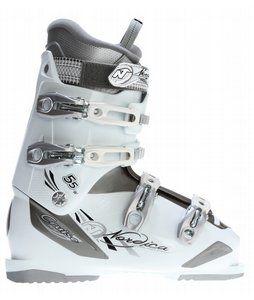 On Sale Nordica Cruise 55 Ski Boots Titanium/White - Womens 2013. FREE shipping over $50.