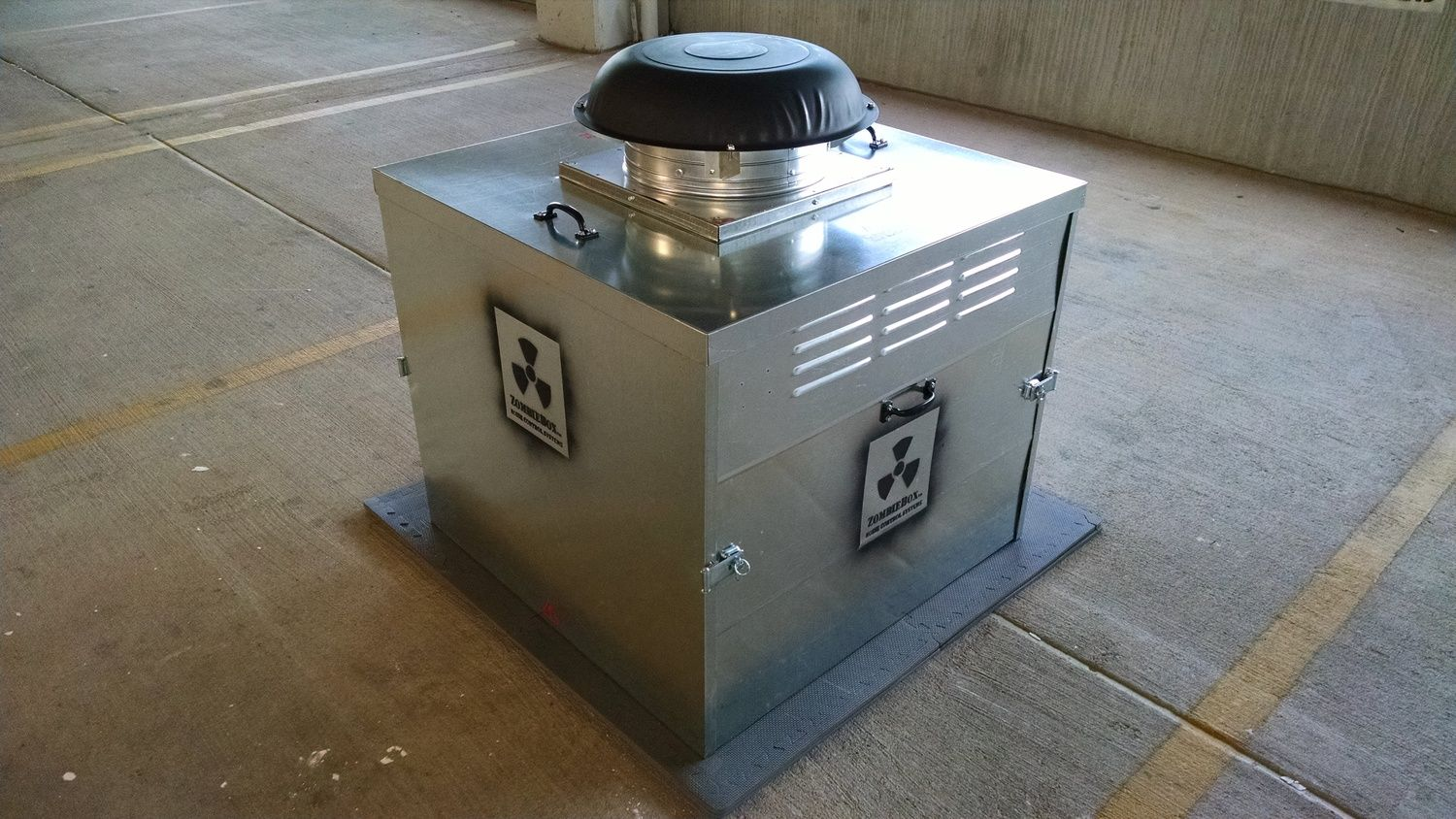 Portable Generator Noise Suppression : Portable collapsable weather proof sound