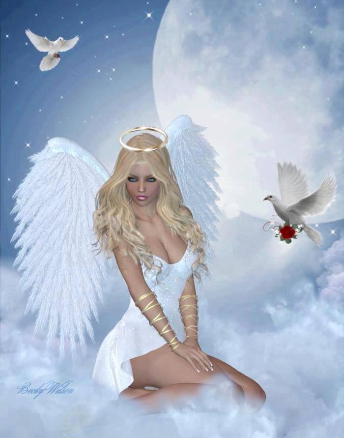 Pin de Roos Moon en NATURALY | Ángeles y hadas, Angel