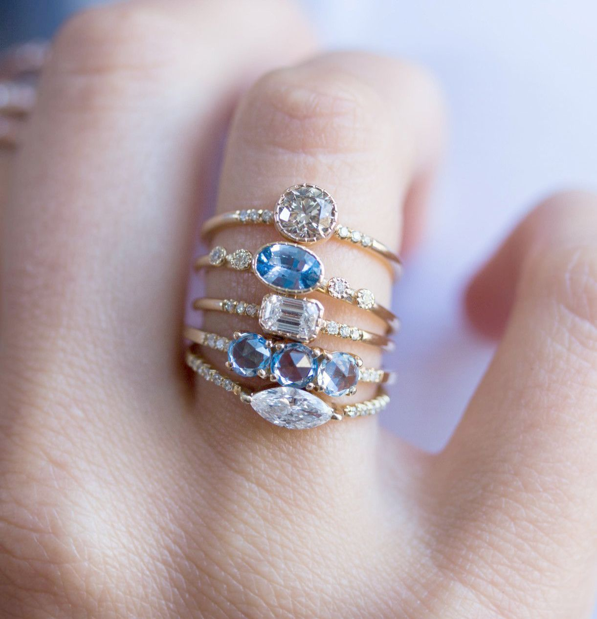 Pin on Sapphire Rings