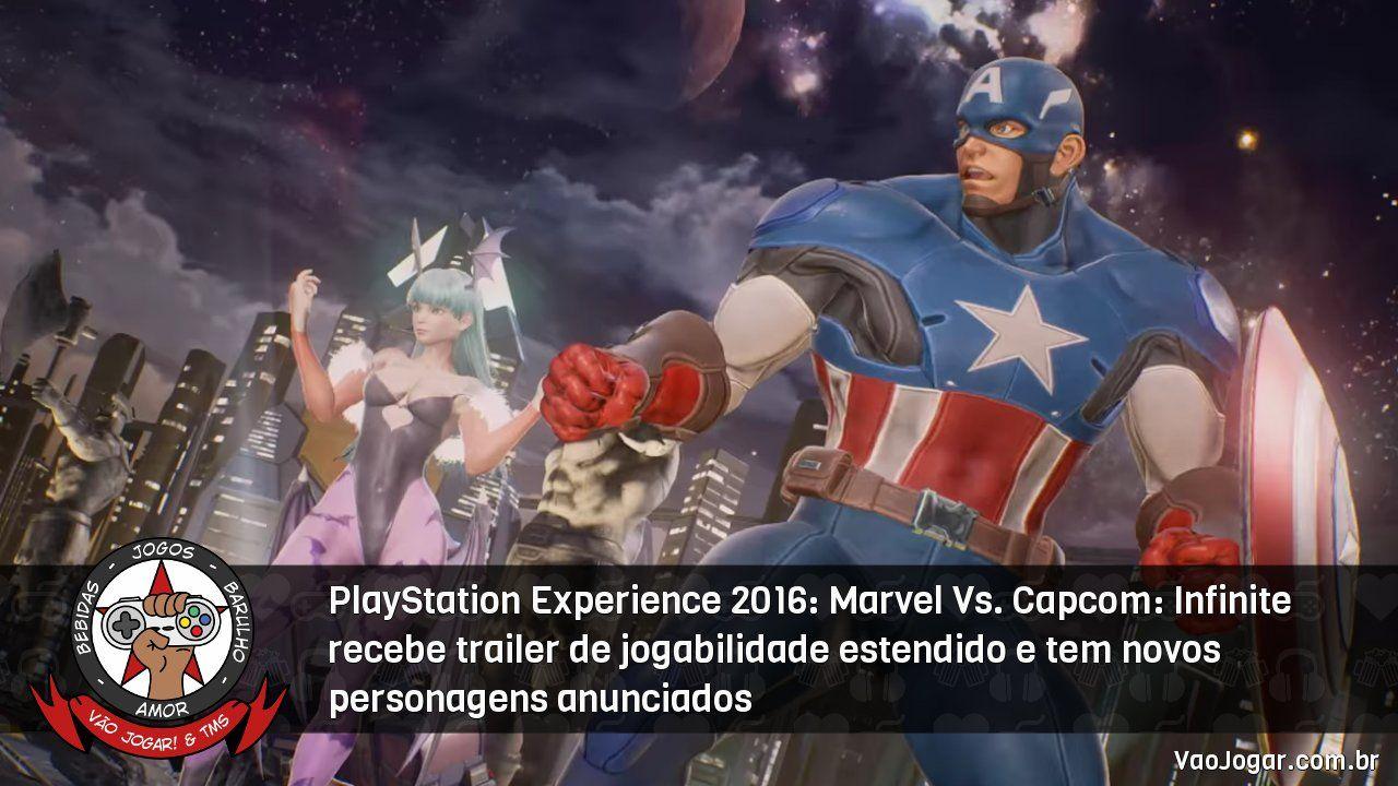 PlayStation Experience 2016 Marvel Vs. Infinite