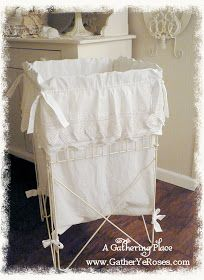 Farmhouse Chic Hamper Liner Laundry Hamper Farmhouse Chic Diy
