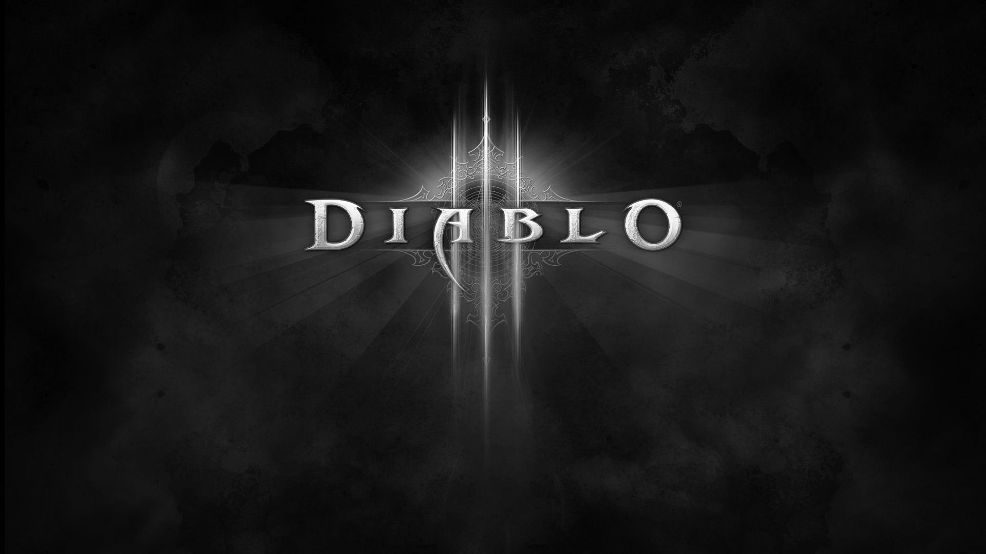 Download Diablo Name Black And White Game Font Wallpaper Kuff