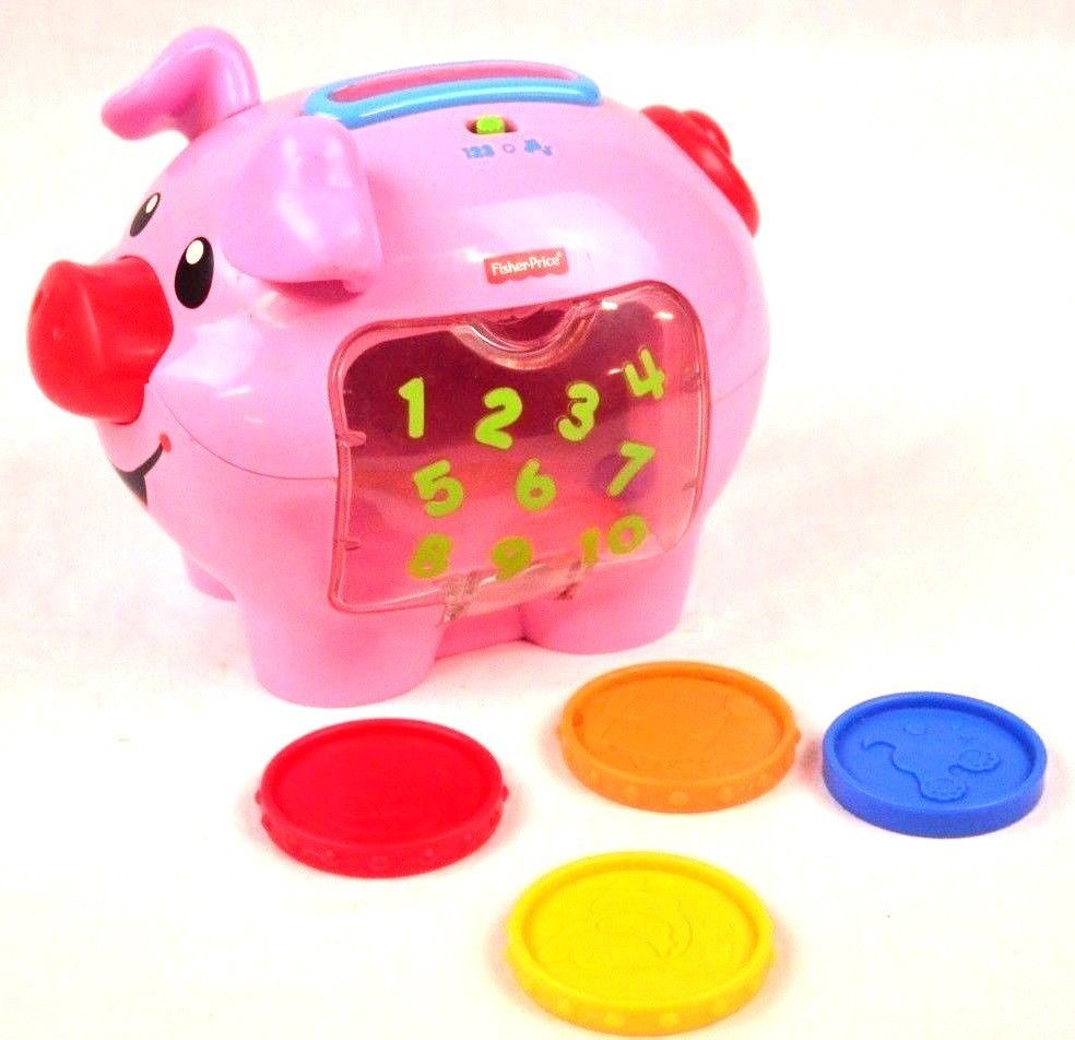 fisher price coin pig