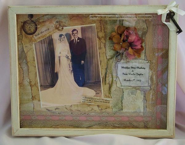 Ocean Shadow Box Ideas 50th Anniversary Shadowbox Two Peas In
